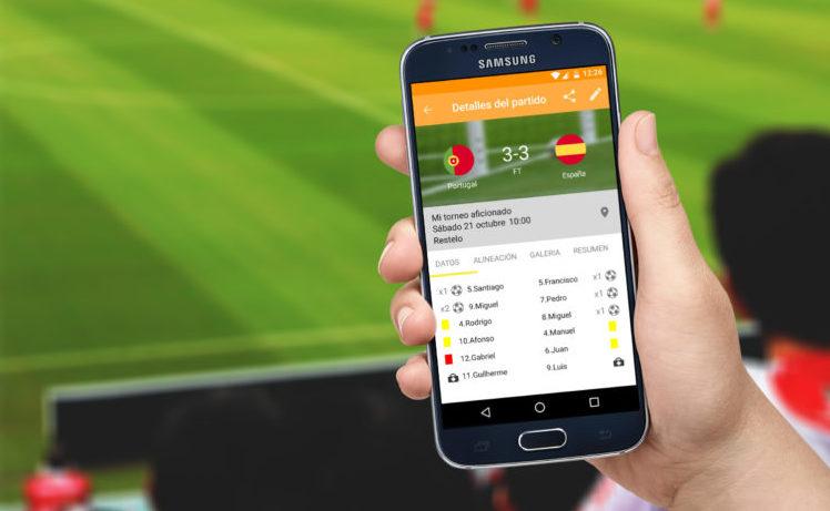 5 Mejores aplicaciones de futbol