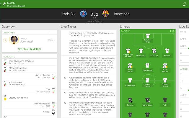 descargar one football aplicacion app