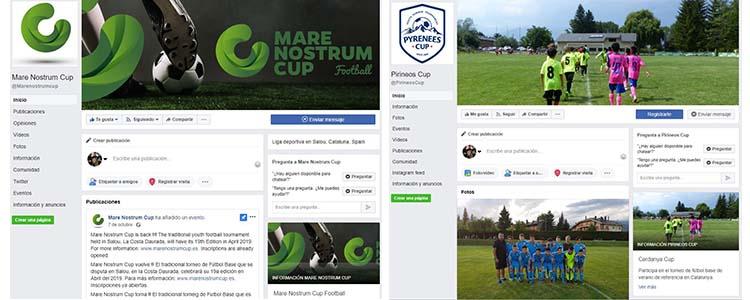 Promocionar torneo en redes sociales