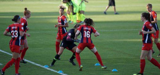 Entrenamientos físicos de fútbol femenino, F7 y F11
