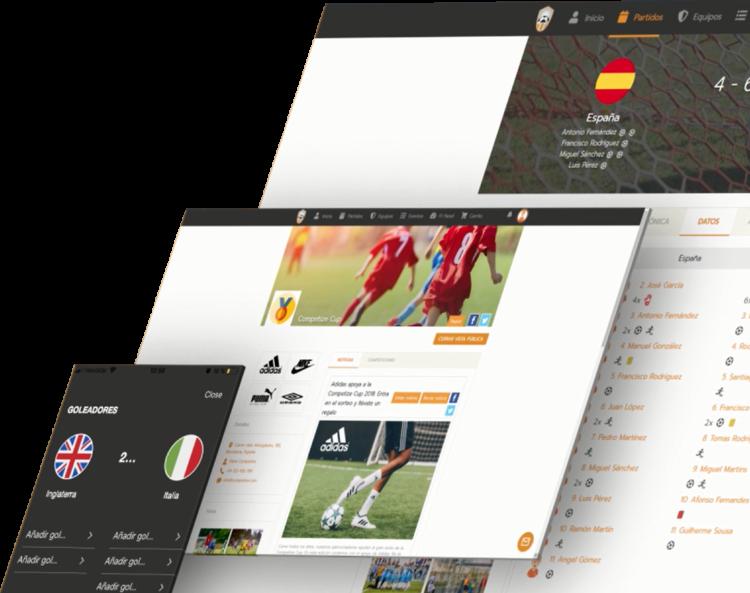 Diseño y desarrollo web para eventos deportivos