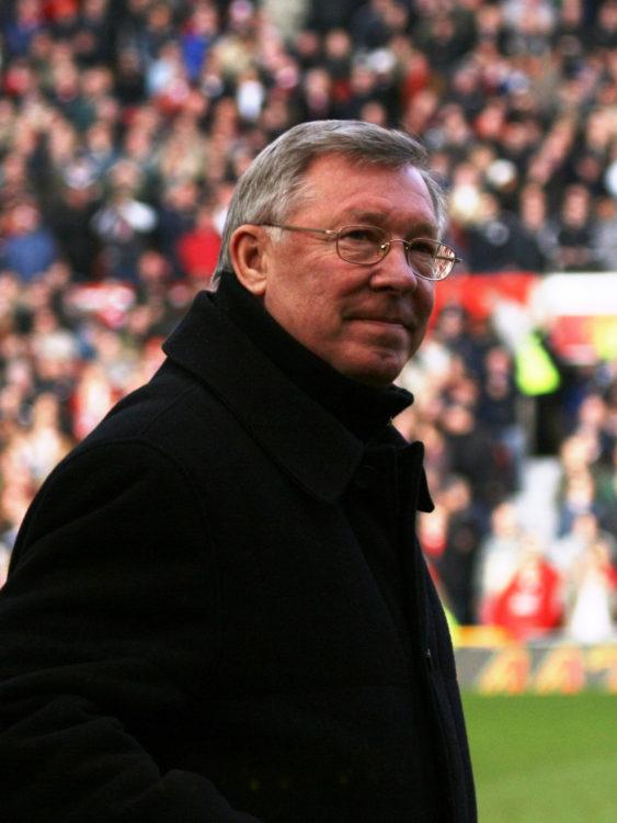 Entrenador en fútbol fantasy Sir Alex Ferguson