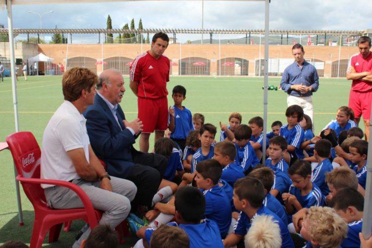 Campus de fútbol de verano Vicente del Bosque