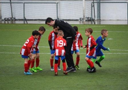 entrenamientos físicos de fútbol para niños