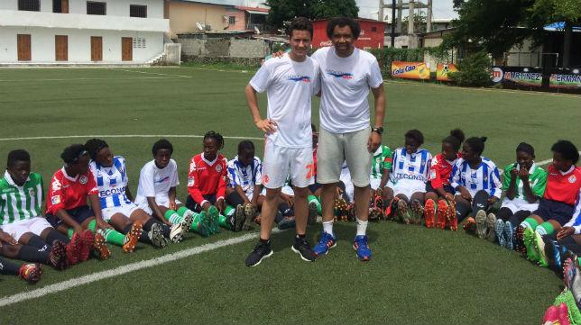 Torneo solidario y gira con Guinea de Zarandona