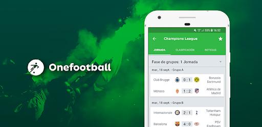 OneFootball para seguir el fútbol en directo