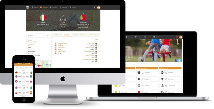 gestor de torneos y ligas online de Competize