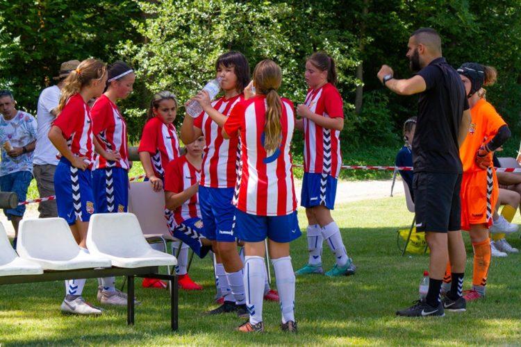 cadete femenino en la Pirineos Cup