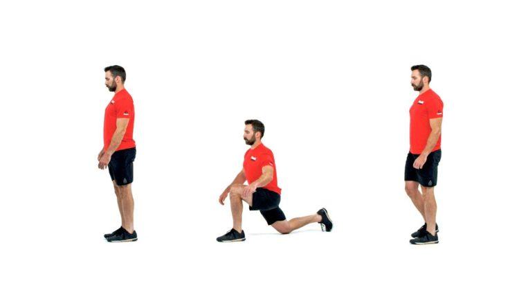 estiramientos de piernas con walking legs