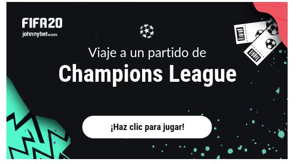 Johnnybet torneos FIFA20 online con registro gratis