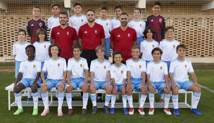 Torneos de Semana Santa de Real Zaragoza de alevines.