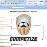 Crear cuadro de eliminatorias con fixtures del torneo
