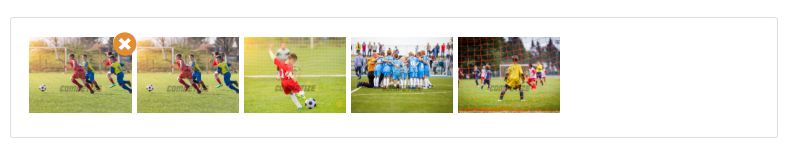 Publish photos of your tournament, championship or league