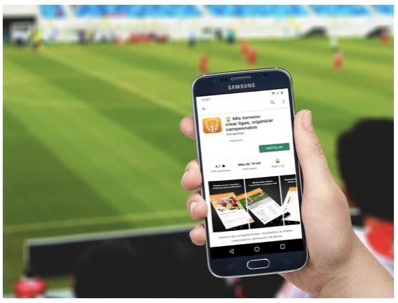 Aplicación para torneos Competize