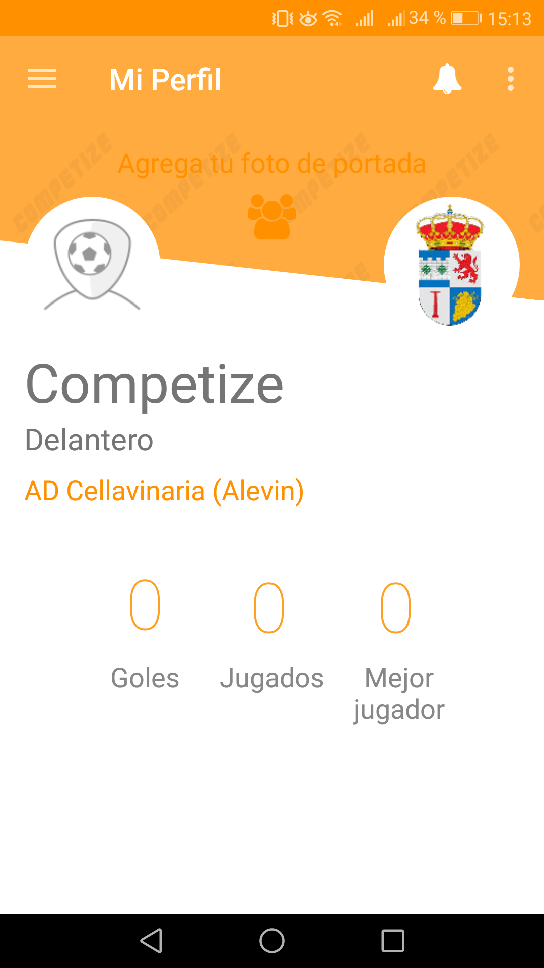 View statistics from app for players