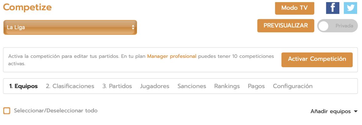 Añadir entrenador del equipo desde Excel