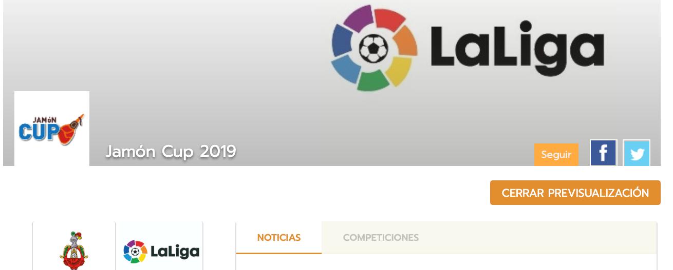 Tournament sponsors on the web
