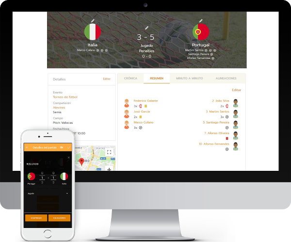Tournament & league management software from Competize