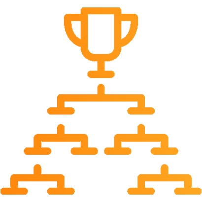 Create online brackets for tournaments and leagues