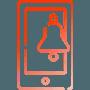 Notificações em aplicações móveis de Android e iOS