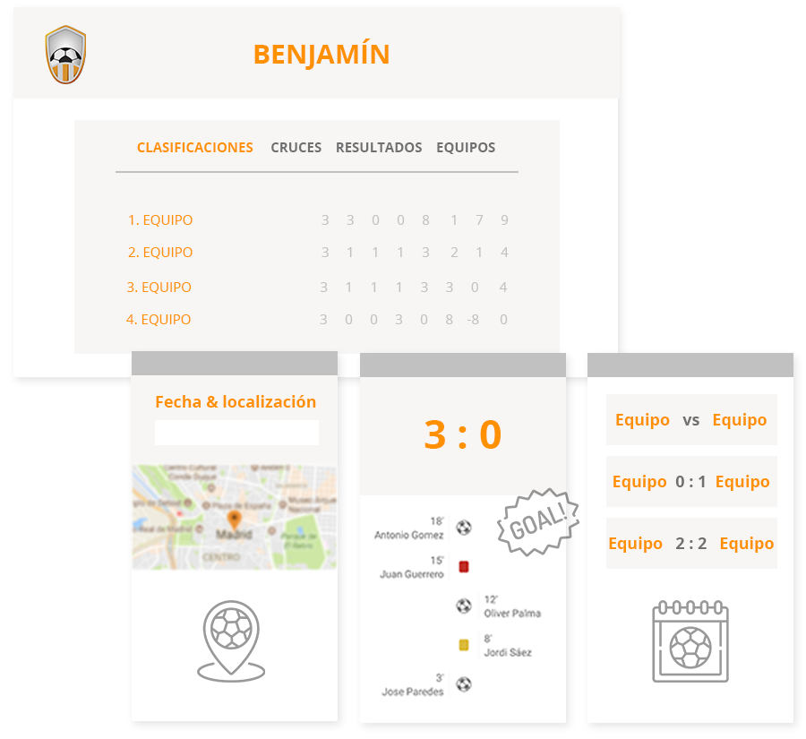 Tournament & league management software and mobile apps