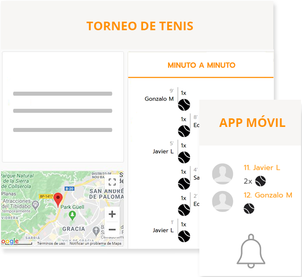 PadeL & tennis league management software