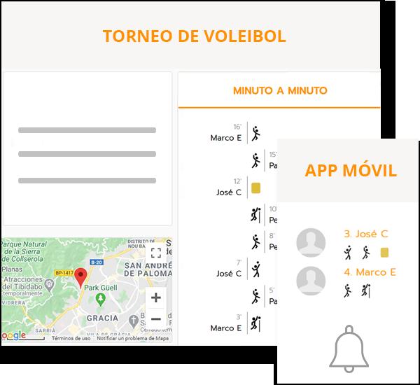 Software para organizar campeonatos de voleibol y vóley playa